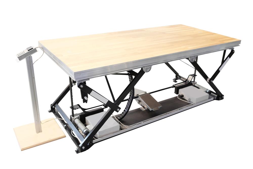 Løftebord / Hæve-sænkeborde til industri løftegrej