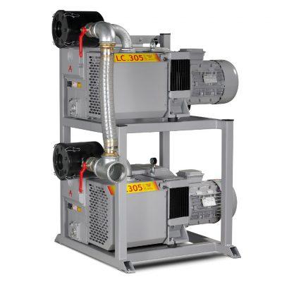 GRAM XC405, XC605 samt XC905 vakuumanlæg